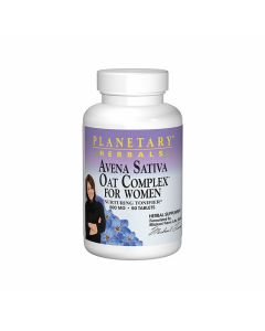 Planetary Herbals Avena Sativa Oat Complex for Women 500 mg
