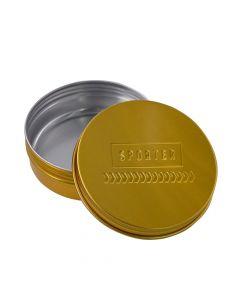 سبورتر - حافظة حبوب ألمنيوم - ذهبي