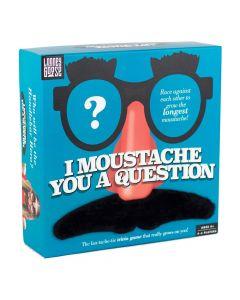 Professor Puzzle I Moustache You a Question