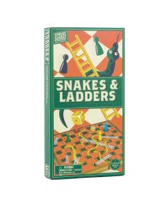 Professor Puzzle Wooden Snakes and Ladders