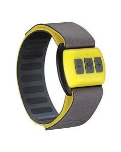 Scosche - Rhythm - Bluetooth Armband Pulse Monitor - Yellow