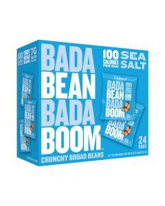 Bada Bean Bada Boom - Sea Salt Crunchy Broad Beans - 24 Bags