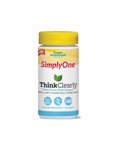 Super Nutrition - Simply One Think Clearly - Gluten Free