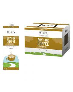 Koita - Soy Milk For Coffee (No-GMO) - 1L - Box Of 12