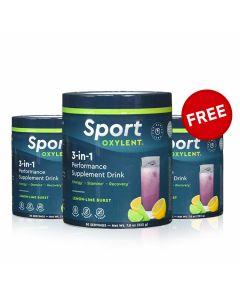 Sport Oxylent 3 in 1 Stack