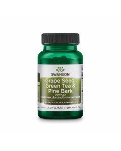 Swanson Grape Seed, Green Tea & Pine Bark Complex