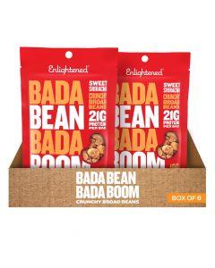 Bada Bean Bada Boom - Sweet Sriracha Crunchy Broad Beans - Box of 6