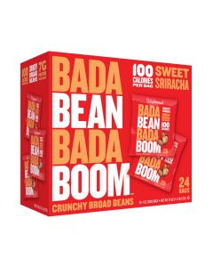 Bada Bean Bada Boom - Sweet Sriracha Crunchy Broad Beans - 24 Bags