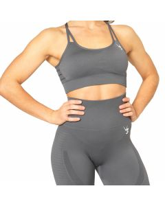 V3 Apparel Seamless Sports Bra - Grey