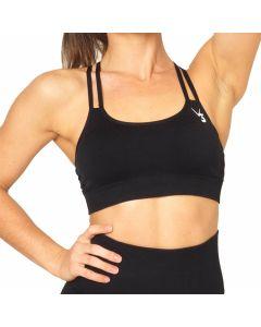 V3 Apparel Seamless Sports Bra - Black