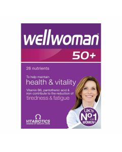 VitaBiotics - Wellwoman 50 + - Intelligent Nutrition for Women Over 50