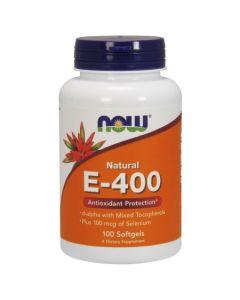 NOW Natural E-400 Antioxidant Protection