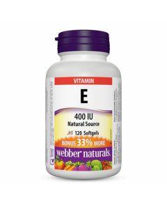 Webber Naturals - Vitamin E Natural Source