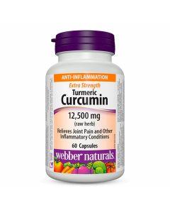Webber Naturals - Anti-Inflammation Turmeric Curcumin