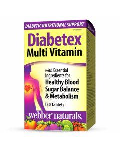 Webber Naturals - Diabetic Nutritional Support - Diabetex Multi Vitamin