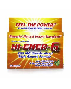 Windmill Health - Hi-Ener-G with Green Tea & Exclusive Energizing Herbal Extracts
