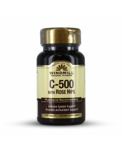 Windmill Natural Vitamins - C-500 with Rose Hips