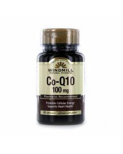 Windmill Natural Vitamins - Co-Q10 100MG