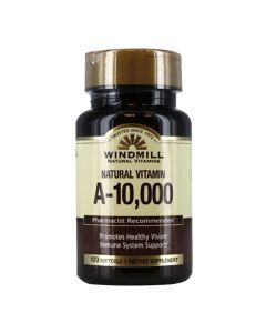 Windmill Natural Vitamins - Natural Vitamin A-10,000