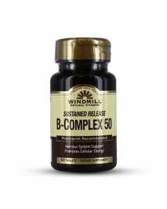 Windmill Natural Vitamins - Sustained Release B-Complex 50