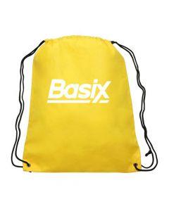 Basix - Drawstring Bag - Dark Yellow