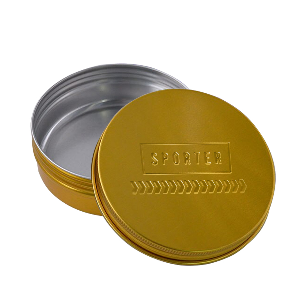 Sporter - Aluminum  Pill Container - Gold