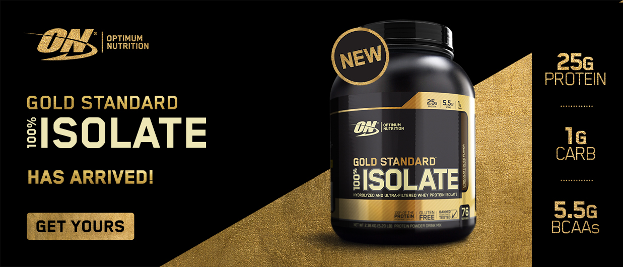 Gold Standard 100% Isolate Protein Whey - EN